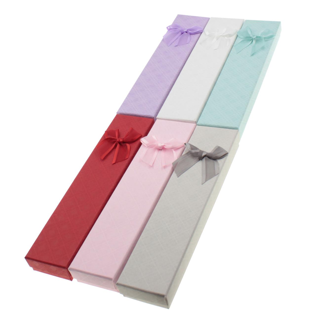 Подарочная коробочка под браслет или цепочку Геометрические узоры 20,2*4,5*2,2 см