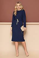 """Платье """"L-145"""" (синий)(размеры 44-54)"""