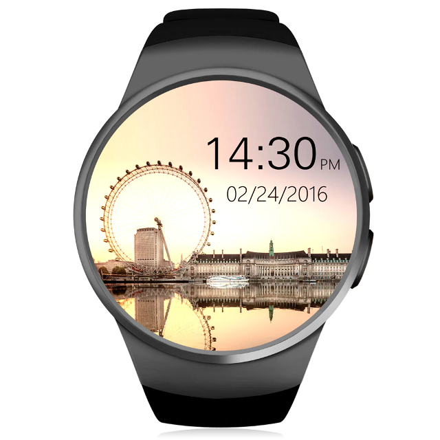 Умные часы UWATCH SMART KW18 BLACK, фото 1