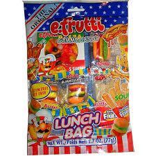 Жевательные конфеты Gummi Lunch Bags, 77 г