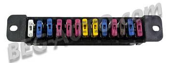 Блок предохранителей 2101,ГАЗ  Евро Нового образца
