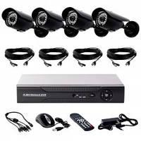 Комплекты AHD для видеонаблюдения