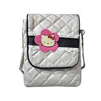 Детская сумочка kitty с кружевом
