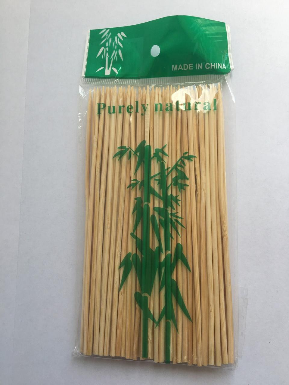 Бамбуковые палочки для шашлыка,15см/100 шт