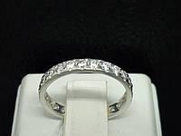Серебряное кольцо с фианитами. Артикул 10106Р 16, фото 1