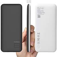 Портативное зарядное устройство (Powerbank) PURIDEA S4 LI-POL 6000mAh чёрно-белое