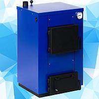 Твердотопливный котел Maxiterm (макситерм) 12 кВт без плиты. Серия Кантри, фото 1