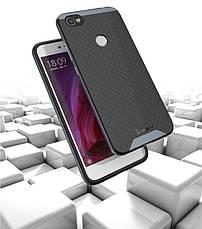 Чохол-накладка iPaky для Xiaomi Redmi Note 5A/ Y1 Lite TPU+PC Чорний/Сірий, фото 2
