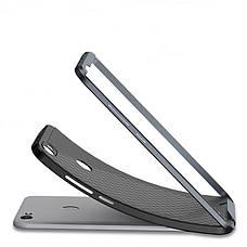 Чохол-накладка iPaky для Xiaomi Redmi Note 5A/ Y1 Lite TPU+PC Чорний/Сірий, фото 3