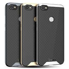 Чохол-накладка iPaky для Xiaomi Redmi Note 5A/ Y1 Lite TPU+PC Чорний/Сріблястий(399844), фото 3