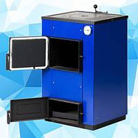 Твердотопливный котел Макситерм 12 кВт с плитой. Серия Кантри, фото 1