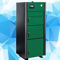 Твердотопливный котел длительного горения Макситерм Профи мощностью 17 - 50 кВт , фото 1
