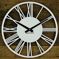 Часы настенные Rome White