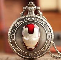 Карманные мужские часы железный человек