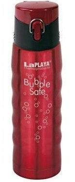 Термос 0,5 л La Playa Bubble Safe красный