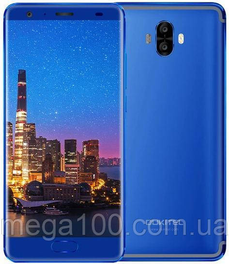 "Смартфон Oukitel K8000 синий (""5,5 дюймов; ПАМЯТИ 4/64; емкость акб 8000 mAh)"
