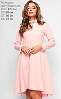 Женское платье-маллет (3164 lp)