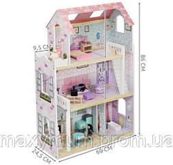 Большой деревянный домик для кукл