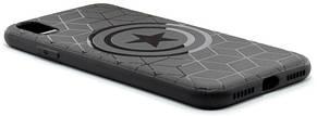"Чехол накладка YCT для iPhone X (5.8 "") TPU Капитан Америка Черный, фото 3"