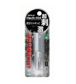 Освежитель полости рта Lion Mouth mist shock mint с потрясающим ароматом мяты 5 мл (523925)