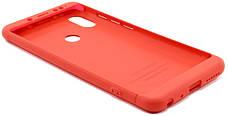 Чехол 360 ° LikGus для Xiaomi Redmi Note 5 Pro / Note 5360 ° Красный (439335), фото 3