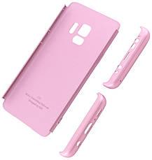 Чехол 360 ° LikGus для Samsung Galaxy S9 360 ° Розовое золото (440041), фото 2