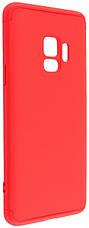 Чехол 360 ° LikGus для Samsung Galaxy S9 360 ° Красный (440034), фото 2