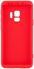 Чехол 360 ° LikGus для Samsung Galaxy S9 360 ° Красный (440034), фото 3