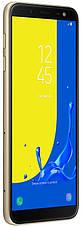Смартфон SAMSUNG SM-J600F Galaxy J6 Duos ZDD (gold) , фото 3