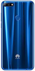 Смартфон HUAWEI Y7 2018 Prime Dual Sim (синій), фото 3