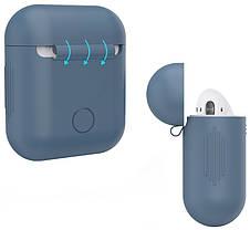 Чохол для навушників AirPods Темно-синій (348527), фото 2