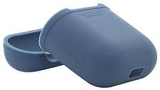 Чехол для наушников AirPods Темно-синий (348527), фото 3
