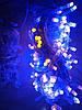 Новогодняя светодиодная гирлянда 100LED 8м сине-желтый, фото 5