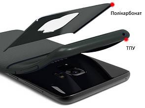Чохол-накладка iPaky для Samsung Galaxy S9 TPU+PC Dunjia Чорний, фото 2