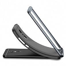 Чехол накладка iPaky для Xiaomi Redmi 5 Plus / Note 5 Global TPU + PC Черный / Серый, фото 2