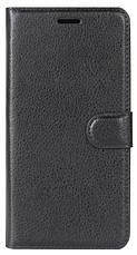 Чехол книжка Wallet для LG Q6 / Q6a / Q6 Prime M700 с визитница Черный, фото 3