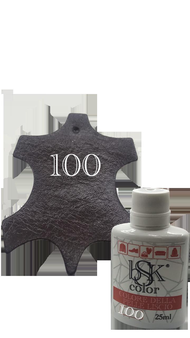 Краска для гладкой кожи бургунди  25ml  №100