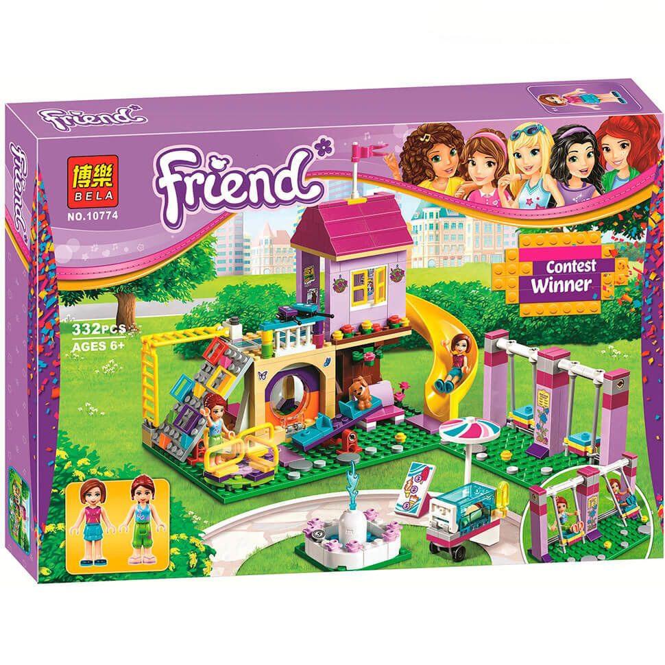 """Конструктор Bela 10774 """"Игровая площадка Хартлейк Сити"""" (аналог LEGO Friends 41325)"""