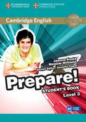 Cambridge English Prepare 3 student's Book
