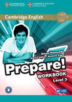 Cambridge English Prepare 3 WorkBook + Downloadable Audio