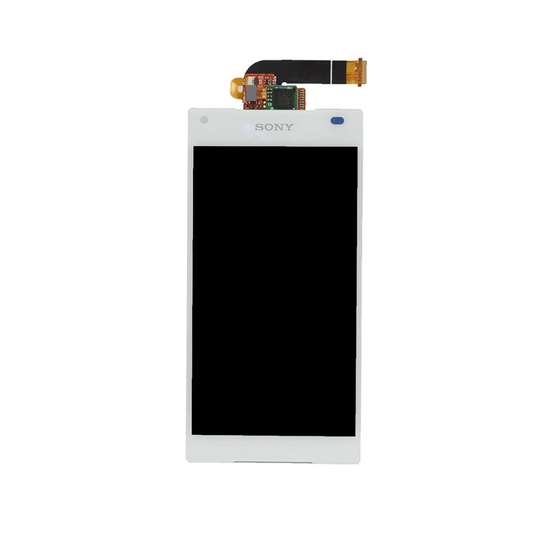Дисплей (LCD) Sony E5803 Xperia Z5 Compact | E5823 с тачскрином, белый