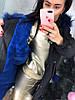Зимняя удлиненная курточка,непромокаемая плащевка на меху. Размер:Л-42/44 И ХЛ- 44/46. (0307), фото 7