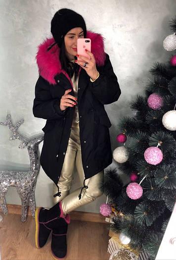 Зимняя удлиненная курточка,непромокаемая плащевка на меху. Размер:Л-42/44 И ХЛ- 44/46. (0307)