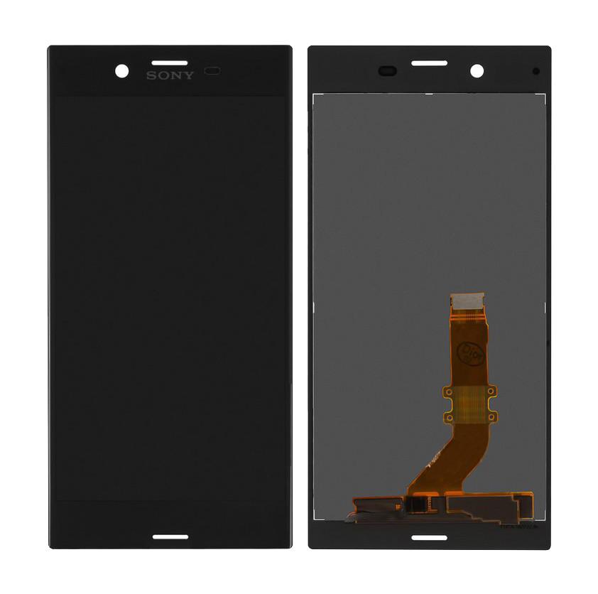 Дисплей (LCD) Sony F8331 Xperia XZ | F8332 тачскрином чёрный оригинал