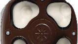 Масажер HM - 401UA з чотирма масажними головками і функцією іонізації, фото 3