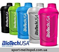 "BioTech USA Shaker Wave ""Schocking Blue"" 600 мл"