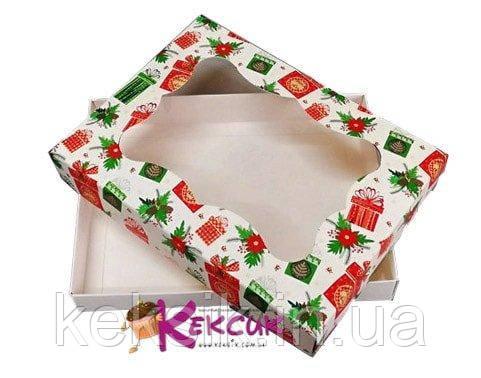 Коробка для пряників Веселих свят 20*15*3
