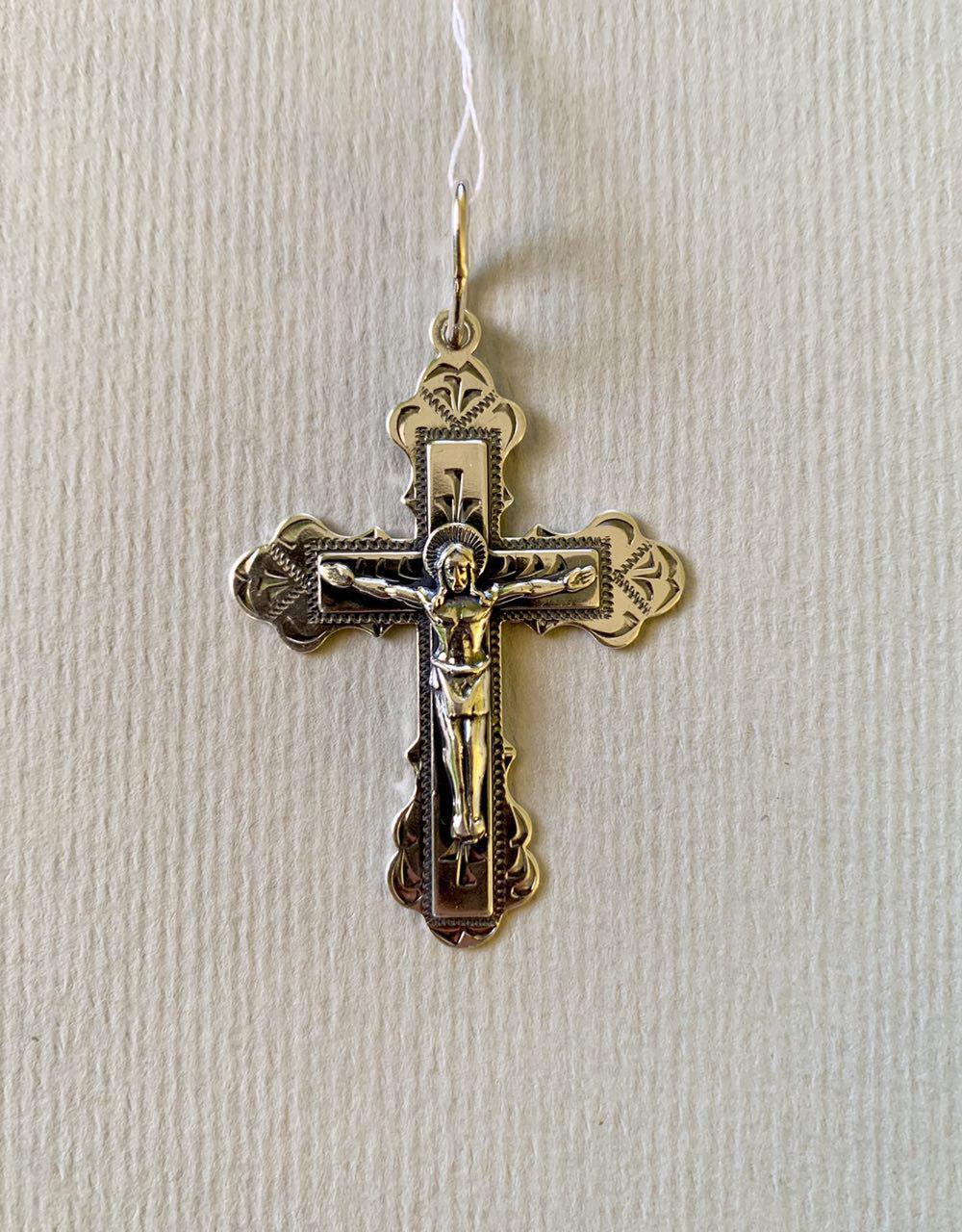 Крест из серебра Прессов