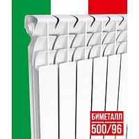 Биметаллический радиатор ItalСlima Ferrum 500*96, фото 1