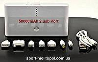 Power Bank 25000 mAh 2 Порта USB, портативный блок питания